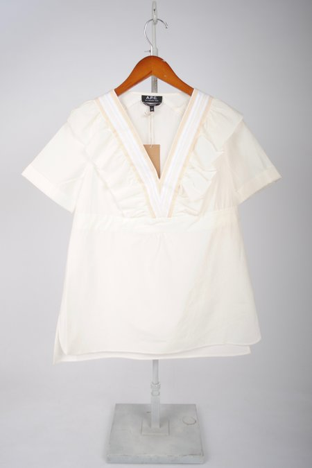 A.P.C. Top Erwin - WHITE