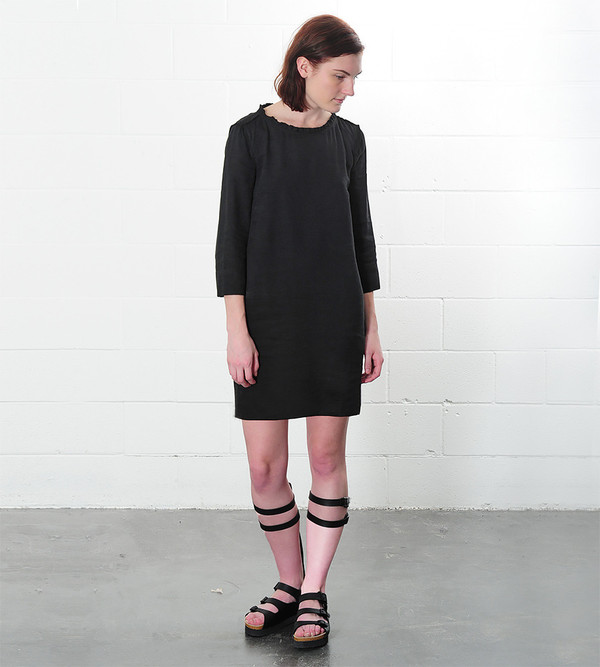Raquel Allegra Linen Shift Dress
