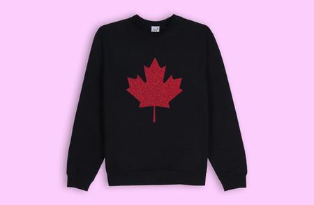 Lb2 Studio Maple Leaf Sweater - Black