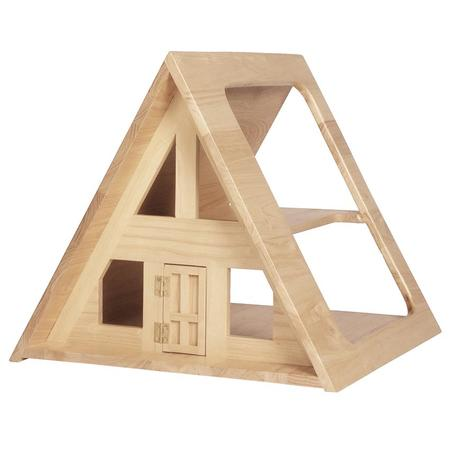 kids Such Great Heights A-Frame Dollhouse