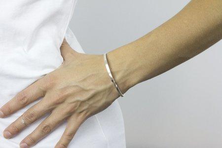 Andrea Shelley Twist Bracelet - Sterling Silver