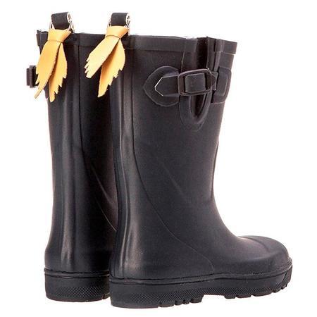 kids Aigle Woodypop Rubber Boots - Marine Blue