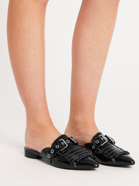 Sol Sana Sadie Slide - Gloss Black