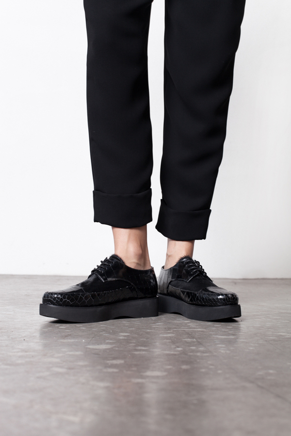 F-Troupe Wedge Lace Up