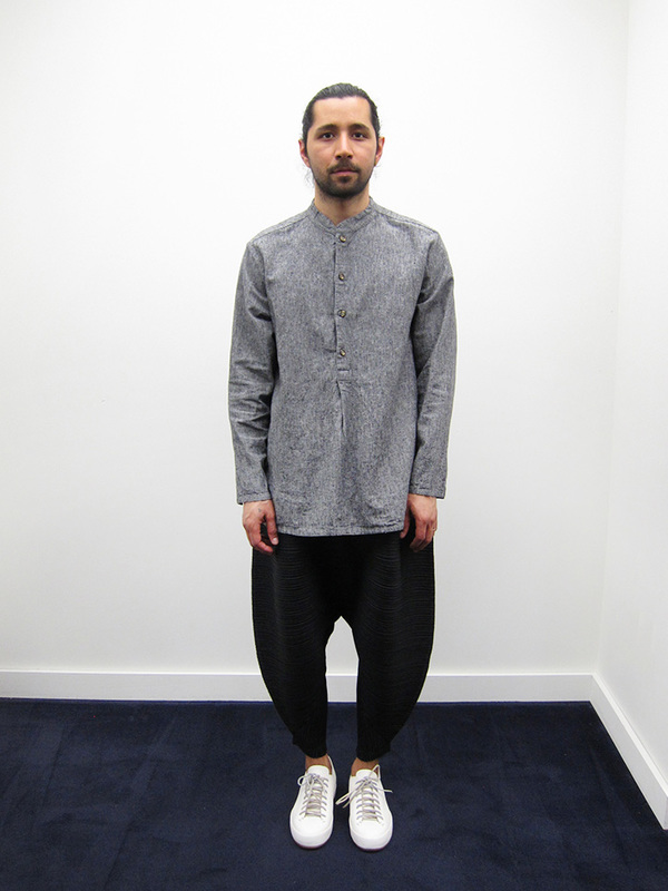 Zed Pullover Shirt, Grey