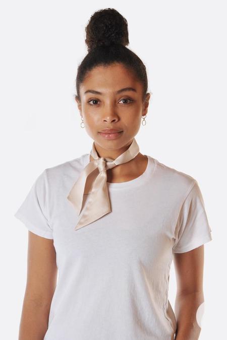 Lotte99 Silk Necktie - Cream
