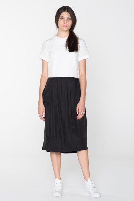 Salasai Carnal Dress - White/Black