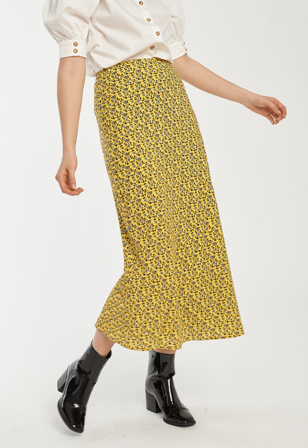 C/MEO Sanguine Skirt - Yellow Floral