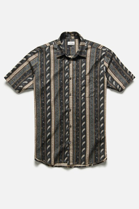House of St. Clair CHICON SHIRT - PAISLEY STRIPE