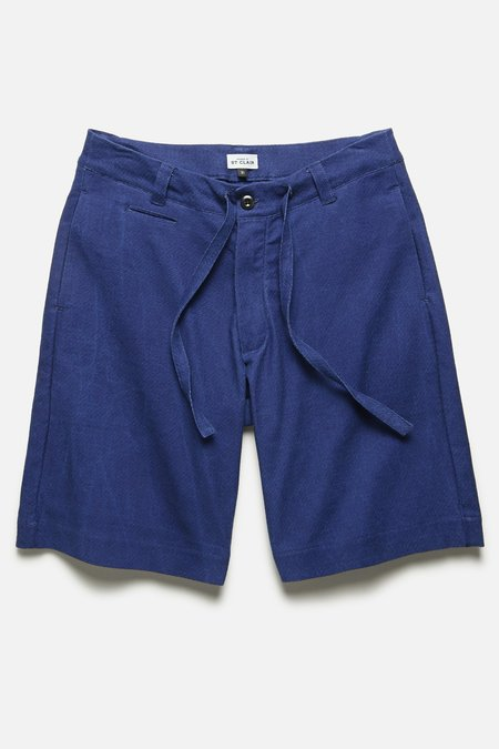House of St. Clair DRAWSTRING SHORT - INDIGO MELON CLOTH