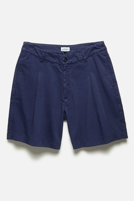 House of St. Clair SINGLE PLEAT SHORT - BLUE
