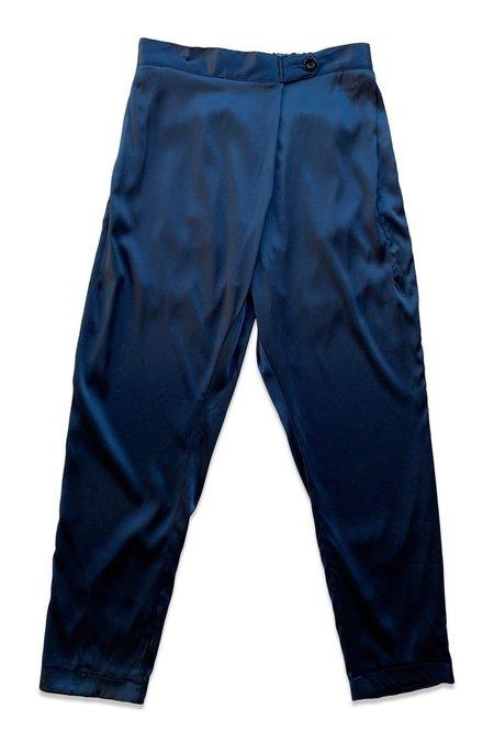 unisex SEEKER Silk Souk Pants Slate