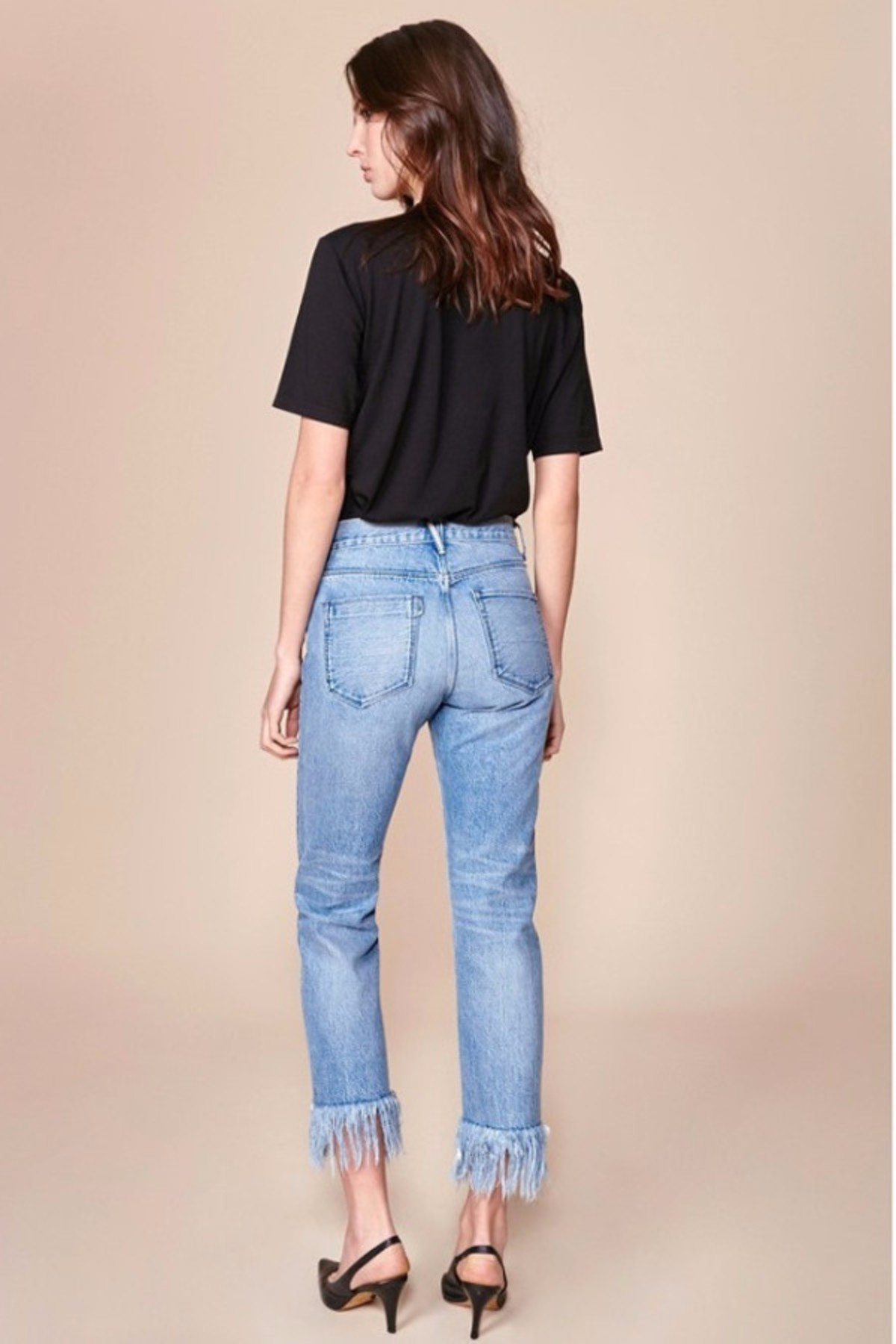 WM3 Straight Cropped Fringed Jeans 3 X 1 54ad85