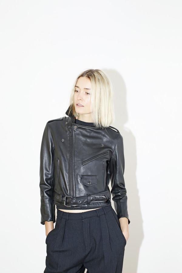 MARKOO Leather Electra Jacket