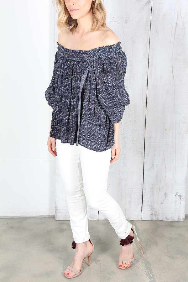 APIECE APART GLORIETTA SQUARE NECK TOP