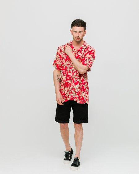 Anerkjendt Leo Shirt - Earth Red
