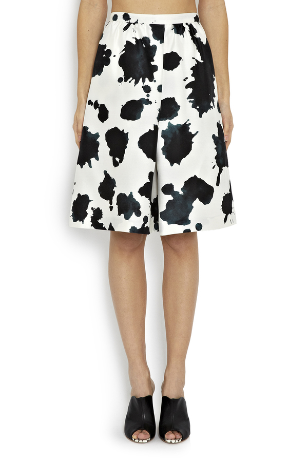 WHiT Cow Print Chime Skirt
