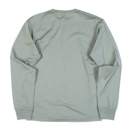 Stone Island Long Sleeve Tee - Salvia