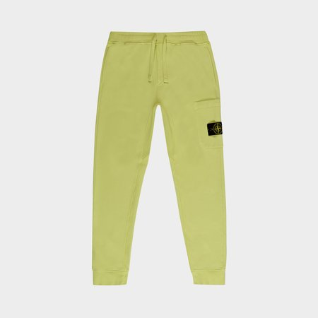 Stone Island Classc Fleece Pants - Lemon