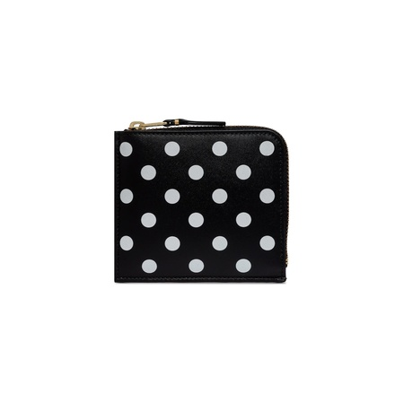 Comme des Garçons 1/2 Zip Wallet - Polka Dot