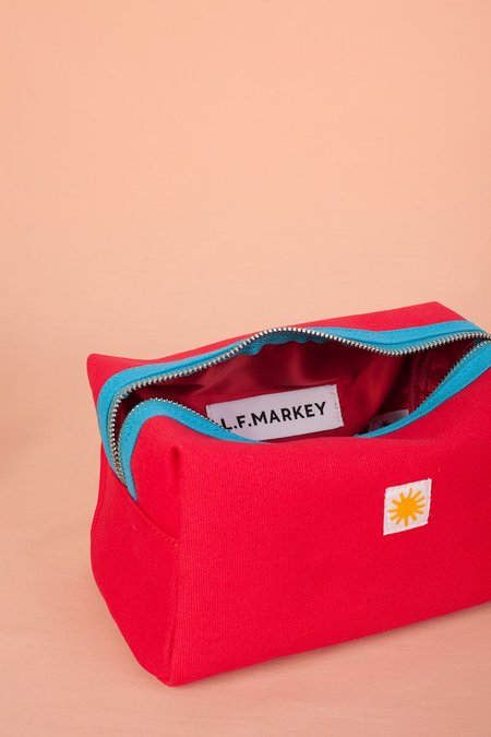 UNISEX L.F.Markey Toiletry Case - Red
