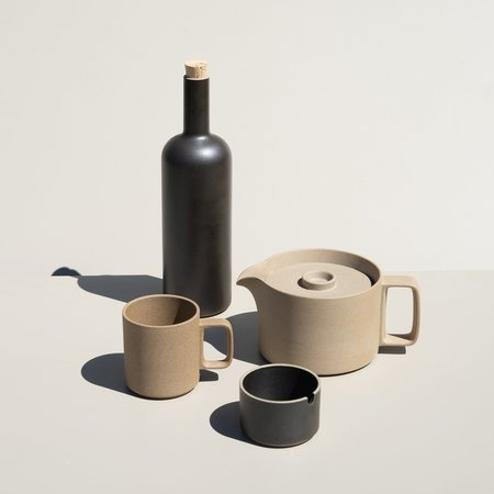Hasami Porcelain Bottle - Black