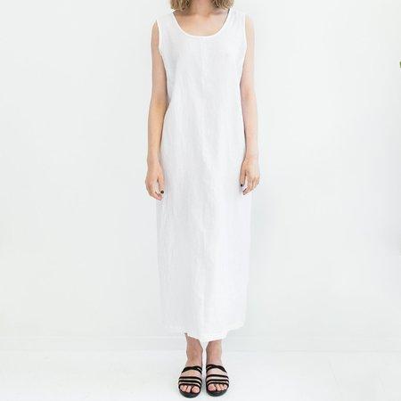 LLOYD Long Shift Dress - White