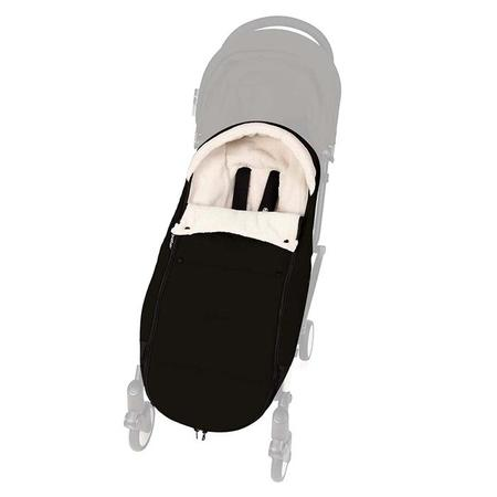 Baby Zen Yoyo+ Stroller Foot Muff - Black
