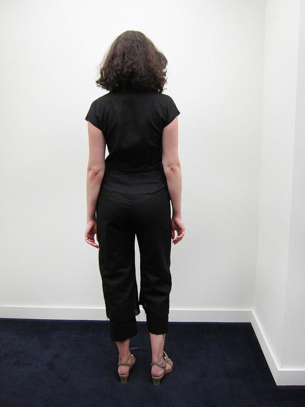 Alexa Stark Linen Jumpsuit