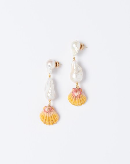 Fry Powers Sunrise Kingdom Drop Earrings