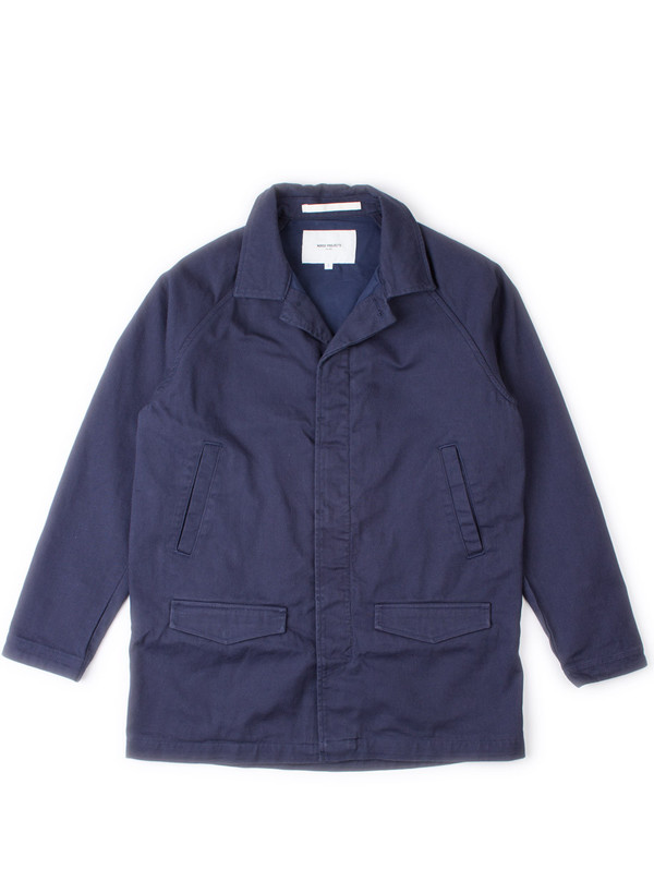 Bertram Twill Coat Navy