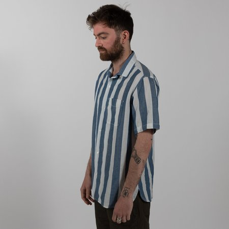 Freenote Cloth Hawaiian Shirt - Awning Stripe
