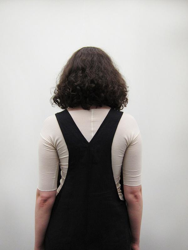 69 Minimal Overalls, Black Linen