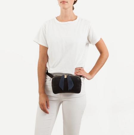 Clare V. Le Belt Bag - Black