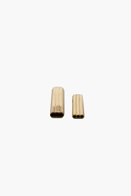 JVDF Toothpick Case - 14k Gold