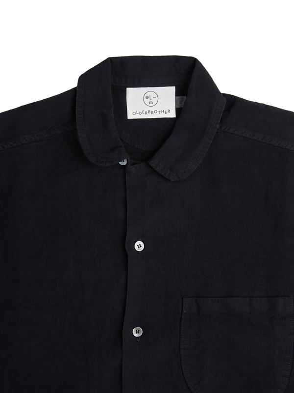 Olderbrother Geri Shirt - Black Indigo
