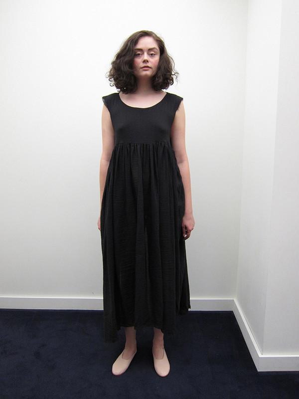 Alexa Stark Gauze Gathered Maxi Dress