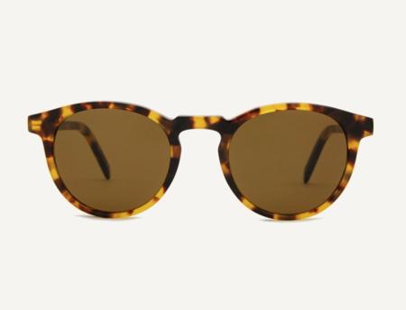 Dick Moby Oil Free Sunglasses - Yellow Havana
