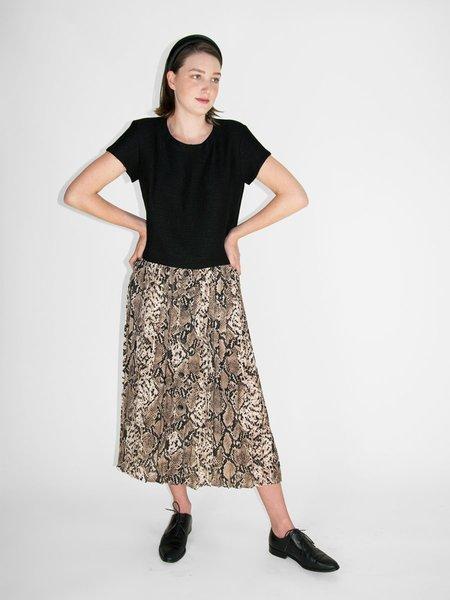 Sans Souci &Another Penelope Skirt - Snakeskin Print