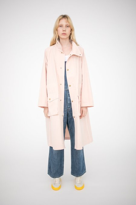 Chimala Military Canvas Cape in Pink Beige
