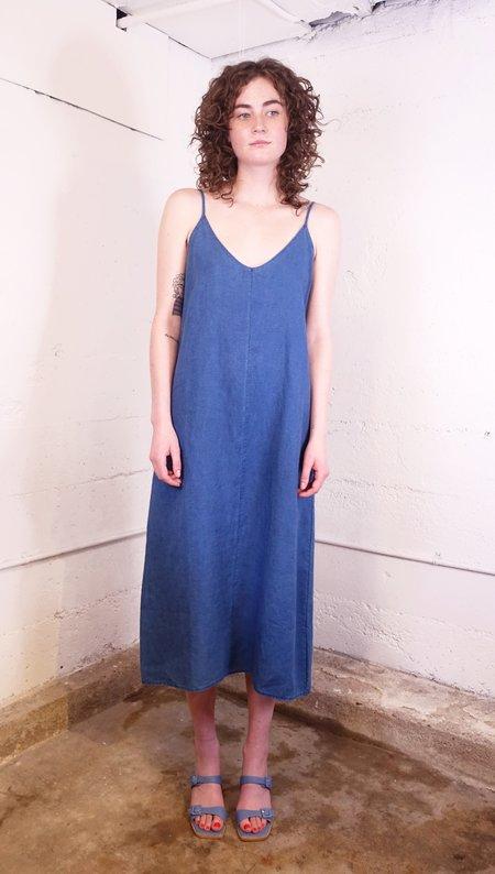 First Rite V Camisole Dress - Indigo