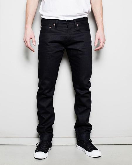 C.O.F. Studio M7 Tapered Denim - Black/Black Rinsed