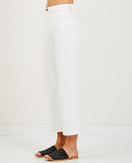AG Jeans ETTA JEAN 1 YEAR BARE - WHITE