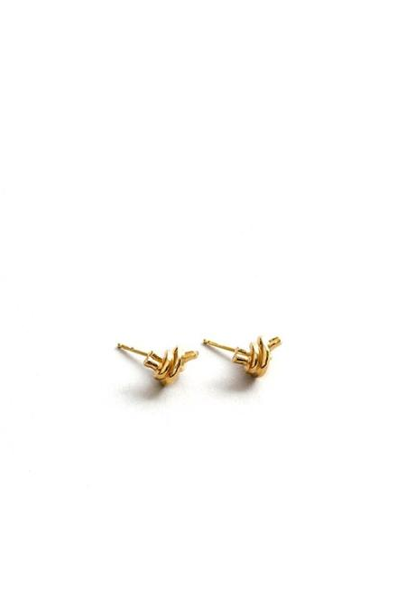 Wolf Circus Emery Studs - Gold