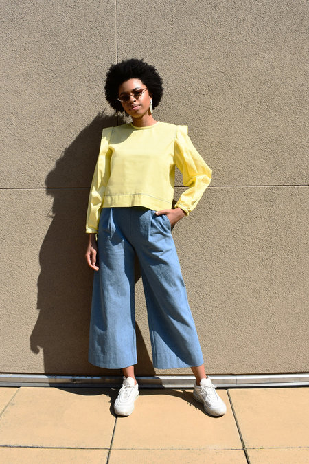 WINSOME Gilda Top - Yellow