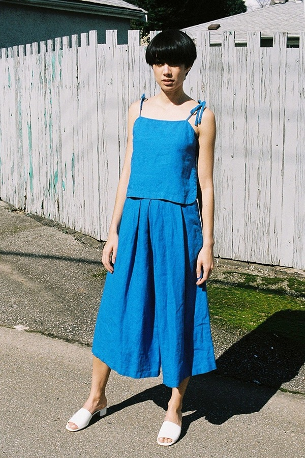 Rachel Comey Wayward Pant - blue