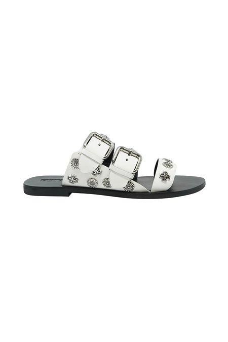 Sol Sana Eastwood Slides - White