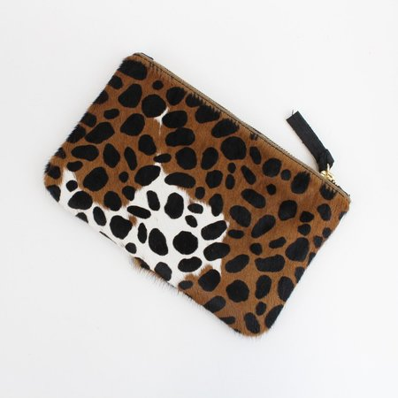 Clare V. Wallet Clutch - Leopard