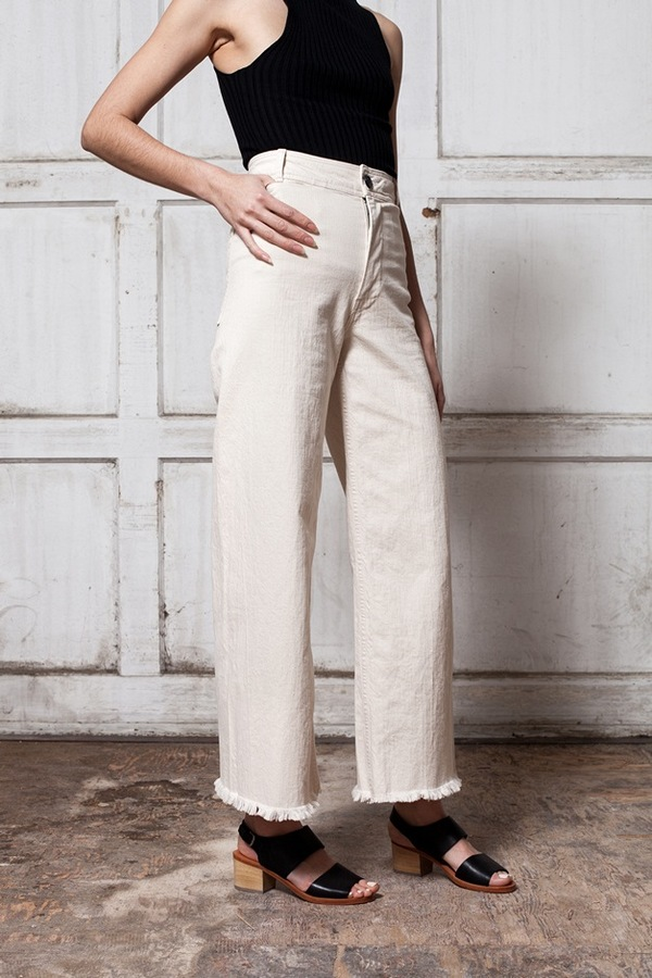 Creatures of Comfort Maison Pant - natural