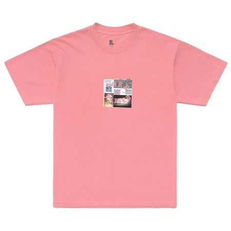 Born X Raised Party Square T-Shirt - Dusty Rose